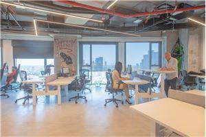 חלל עבודה בי אול מגדל אלון 2   בתל אביב