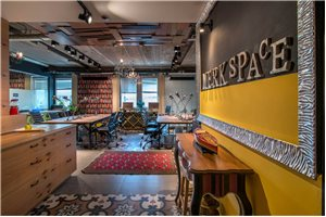 Coworking space inTel Aviv - Merkspace Derech Begin
