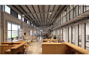 חלל עבודה מרכז פיתוח עסקי וטכנולוגי גולן  בבני יהודה
