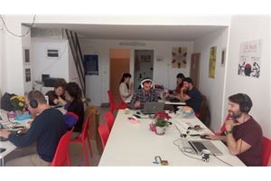 חלל עבודה מיוזיק ספוט   בתל אביב