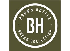 brown hotel - Logo