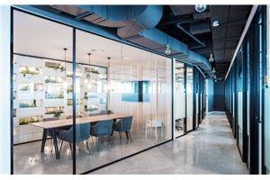 חדר ישיבות דוגדר - מגדל עסקים עזריאלי ראשונים