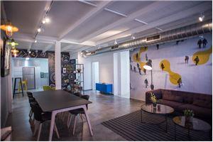 חלל עבודה קונקט - פולג חדרי ישיבות  בנתניה