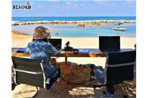 חלל עבודה ביץ' האב   בחיפה